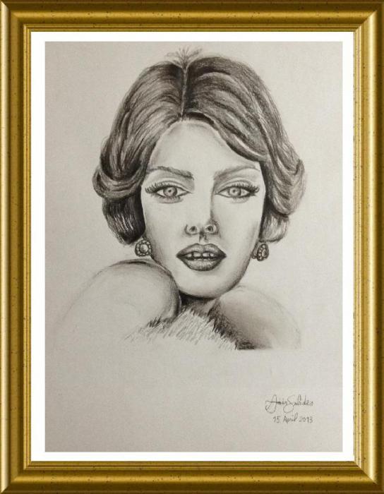 Sophia Loren por Amir.Salides